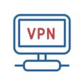 Use of Virtual Private Network (VPN) to communicate between our facilities and client offices as needed